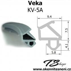 Okenni těsnění do oken VEKA KV-5A šedá