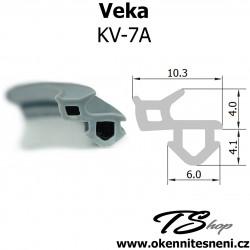 Okenni tesneni do oken VEKA KV-7A šedá