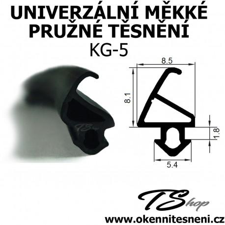 Univerzální měkké pružné těsněníTPS KG-5
