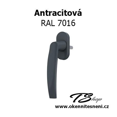 Okenni klika PLUTON Antracitová RAL 7016
