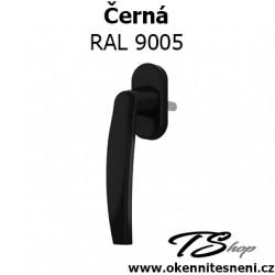 Okenni klika PLUTON Černá RAL 9005